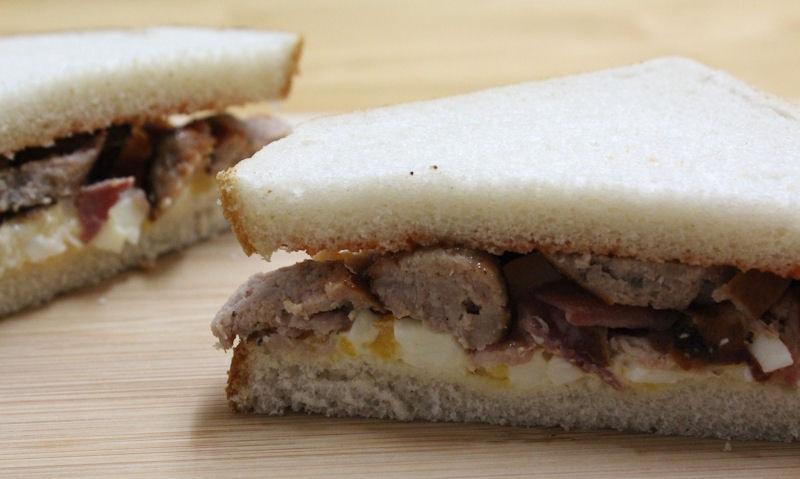 All Day English Breakfast Sandwich Recipe