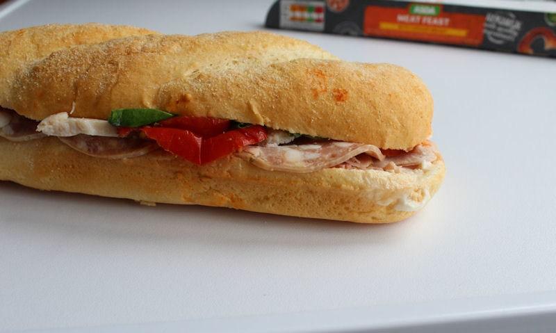 Asda Meat Feast Sub roll