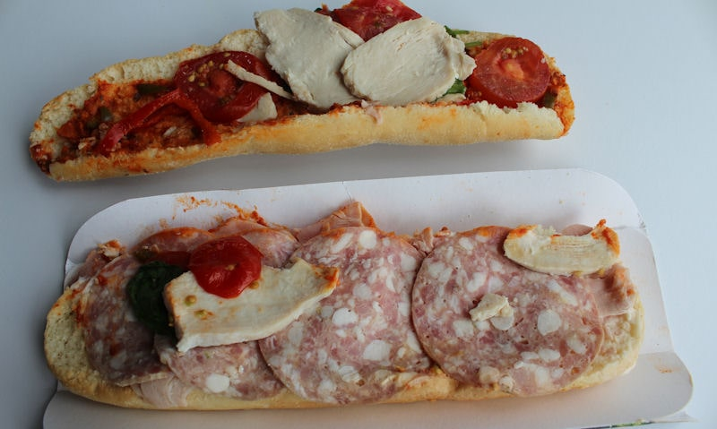 Opened Asda meat feast with Italian ingredients