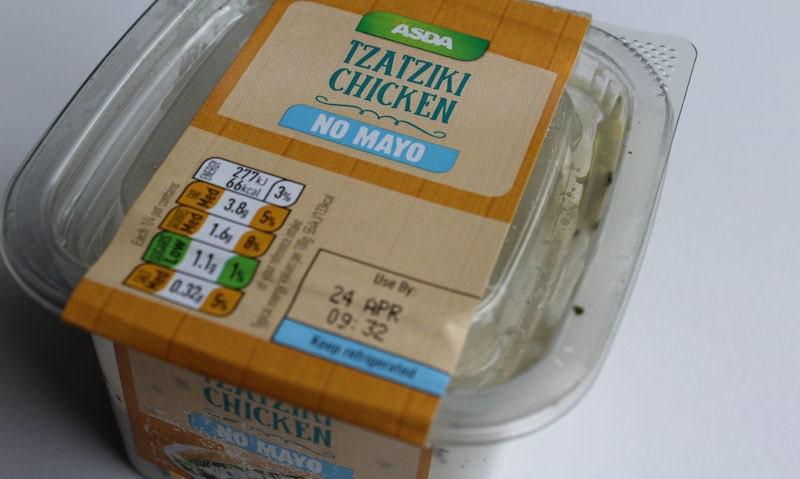 Asda Tzatziki Chicken (No Mayo) Sandwich Filler Review