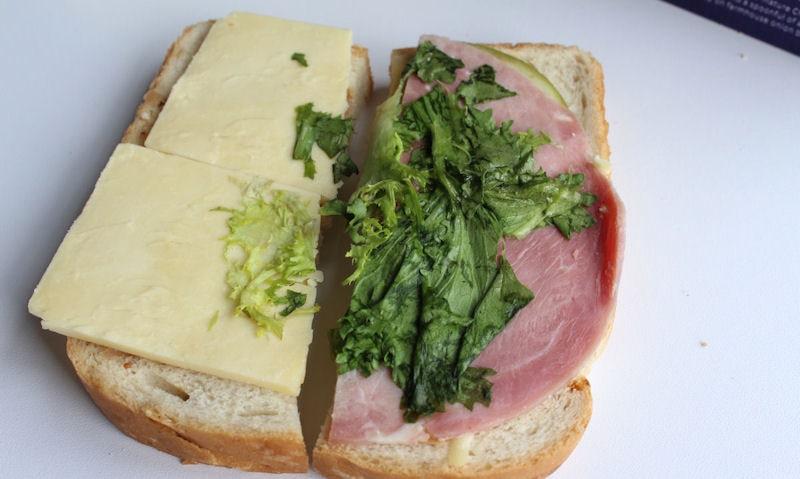 Opened Asda Wiltshire Ham & British Cheddar Ploughman's