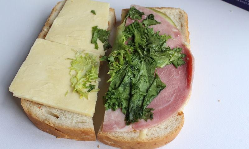 ASDA Wiltshire Ham & British Cheddar Ploughman, ingredients