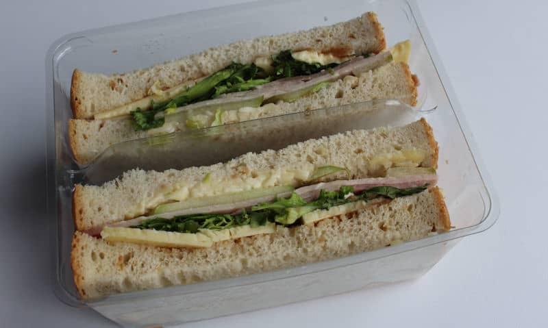 Asda Wiltshire Ham Cheddar Ploughman's Sandwich Gallery
