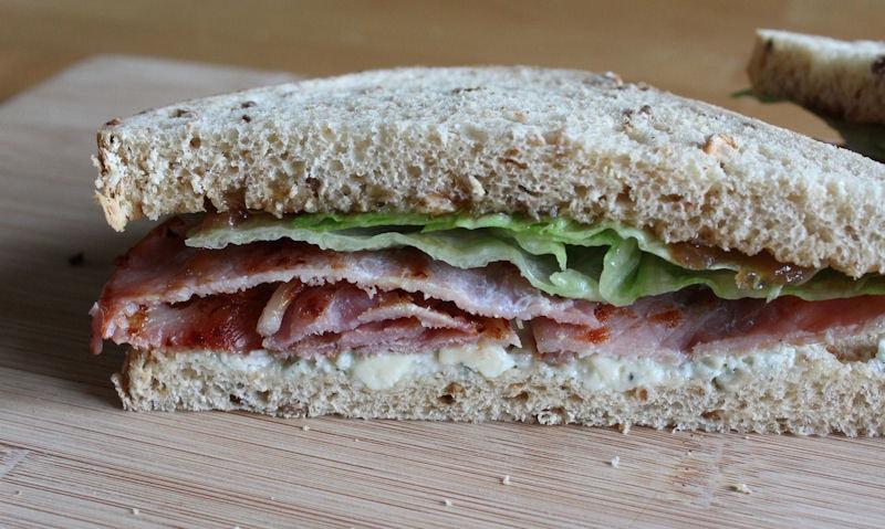 Bacon & Stilton Sandwich Recipe