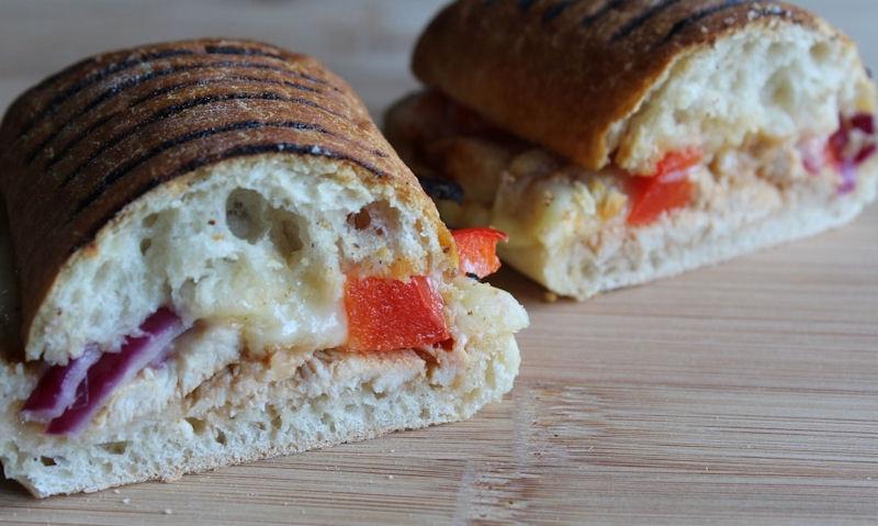 BBQ Chicken Panini Recipe