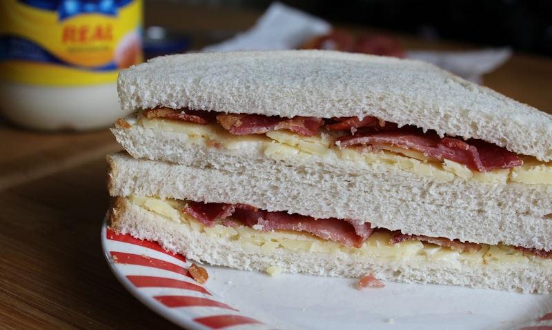 Cheese & Bacon Sandwich Recipe