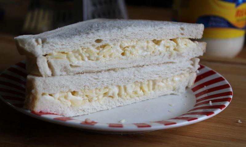 Cheese Mayonnaise Sandwich Recipe