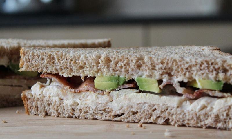 Chicken, Bacon & Avocado Sandwich Recipe
