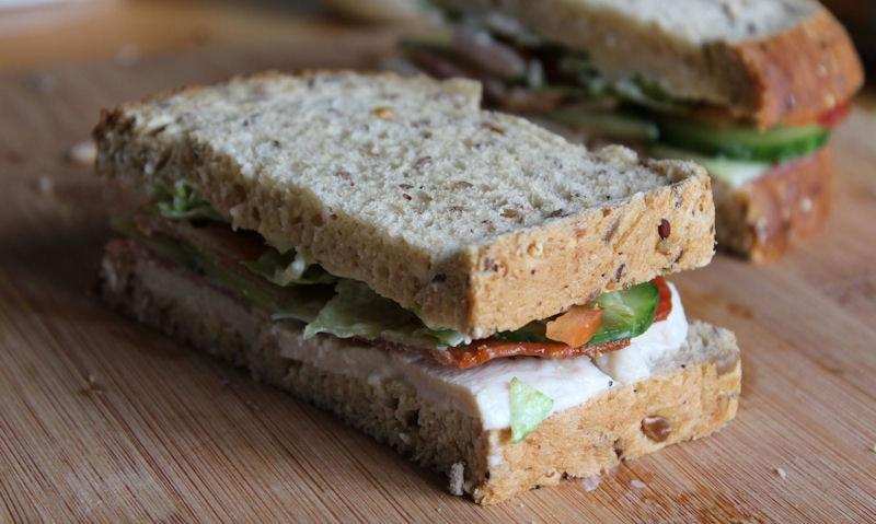 Chicken & Bacon Salad Sandwich Recipe