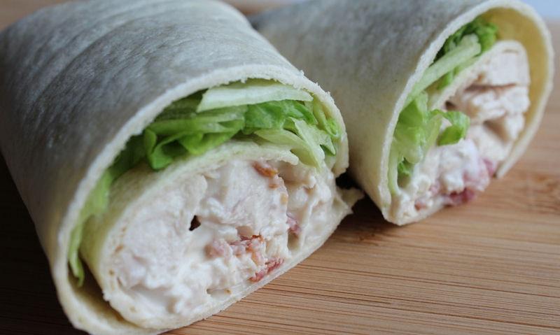 Chicken & Bacon Wrap Recipe