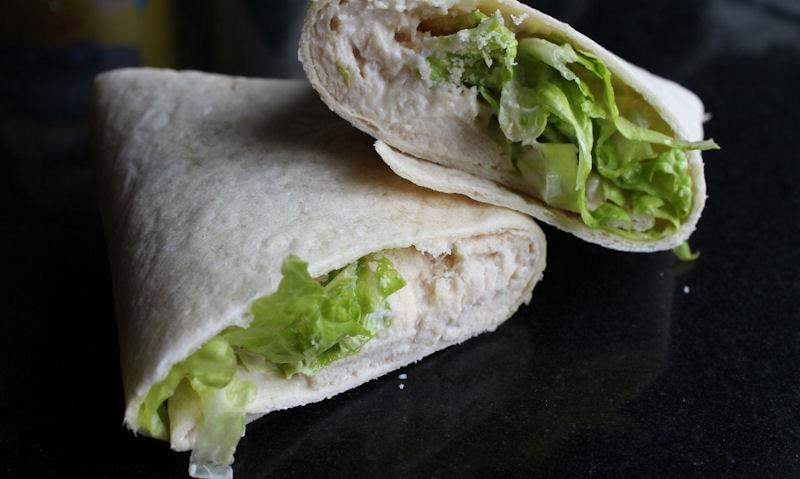 Chicken Caesar Salad Wrap Recipe