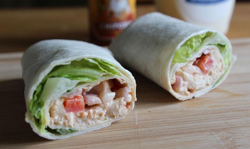 Chipotle Chicken Wrap Recipe