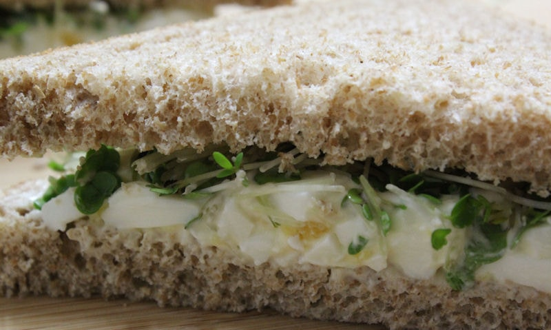 Egg & Cress Sandwich Recipe