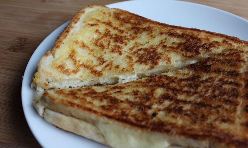 British Grilled Cheese Sandwich Recipe