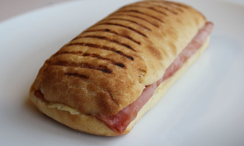 Ham & Cheese Panini Recipe
