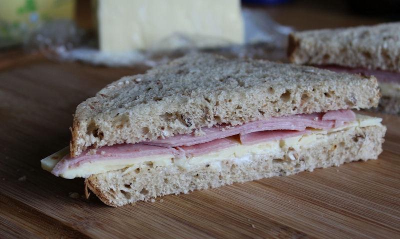 Ham & Cheese Sandwich Recipe