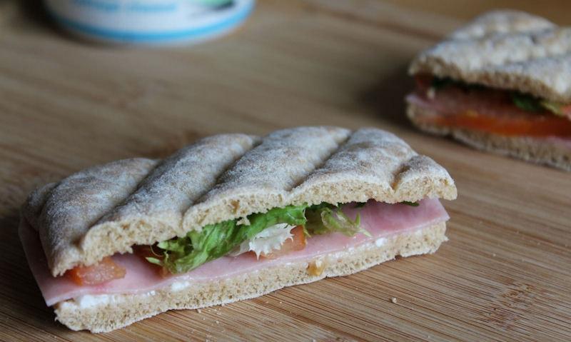 Healthy Ham & Cottage Cheese Thin Recipe