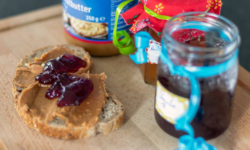 Peanut Butter & Jam Sandwich Recipe