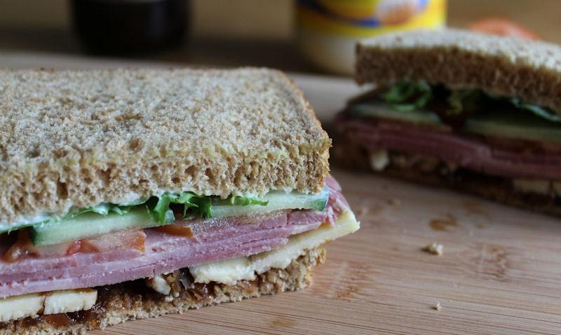 Ploughman's Lunch Sandwich Recipe
