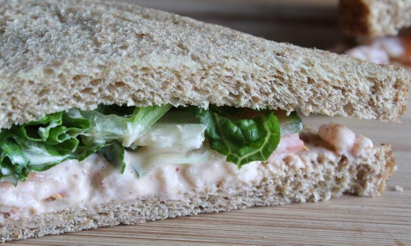 Prawn Salad Sandwich Recipe