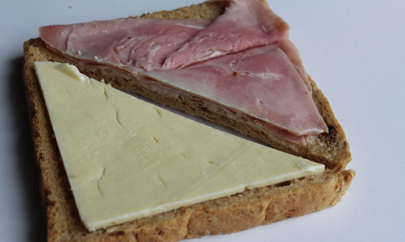 Tesco smoked ham and cheddar sandwich filling