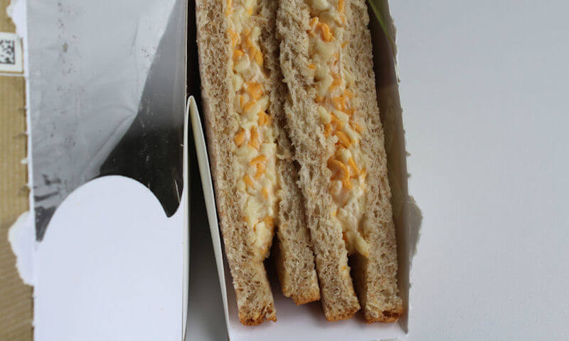 Cheese & Onion Sandwich, ripped package