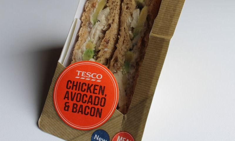 Tesco Chicken, Avocado & Bacon Sandwich Review