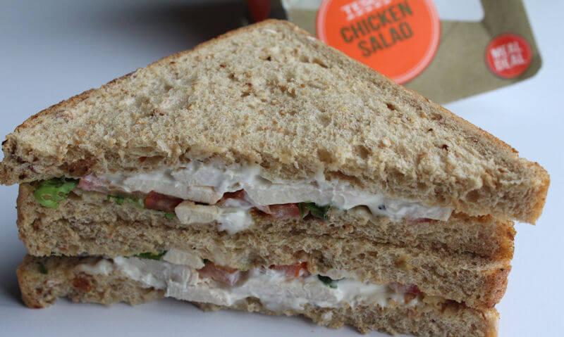Tesco Chicken Salad Sandwich, doubled up