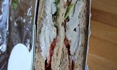 Tesco Chicken Salad Sandwich, ingredients