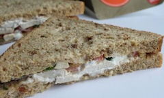 Chicken Salad Sandwich, single slice