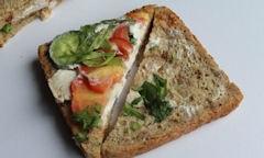 Tesco Chicken Salad Sandwich, wideshot of package