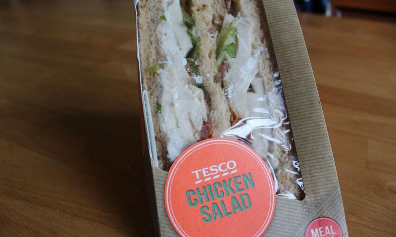 Tesco Chicken Salad Sandwich