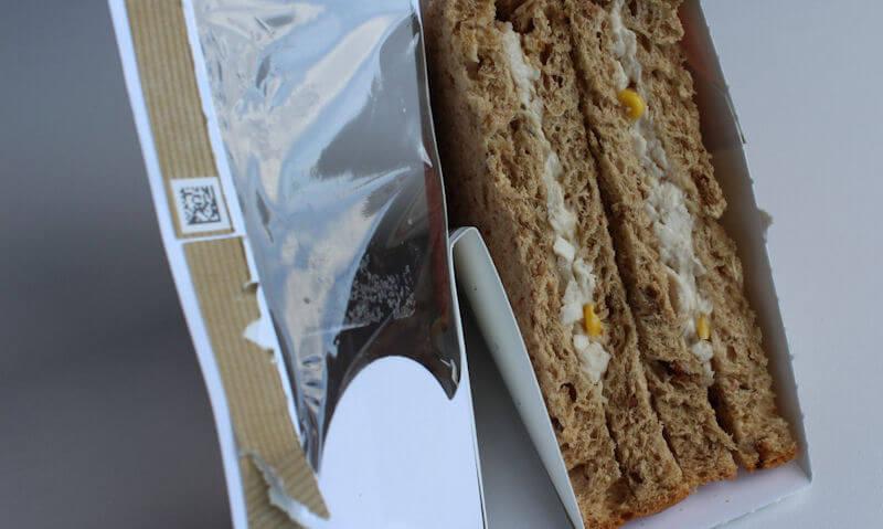 Chicken & Sweetcorn Sandwich, sandwich package