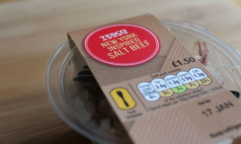 Tesco New York Inspired Salt Beef Review