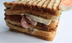 The Chicken Club Sandwich, crust sides
